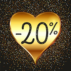 Sevendec. Discount of 20% for a new collection for Valentine's Day!