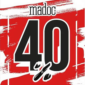 Madoc. For a new collection, a 40% discount!