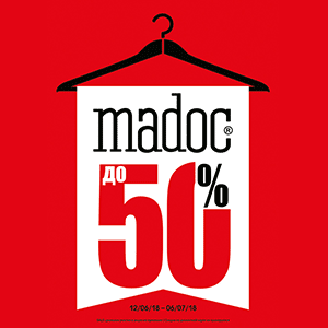 Madoc. For a new collection, a 50% discount!