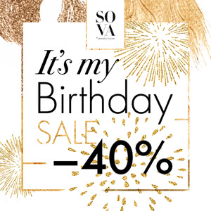It's my birthday sale!