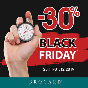Black Friday at BROCARD