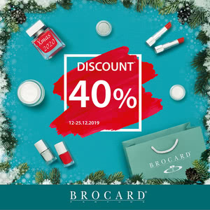 New Year's discount 40%