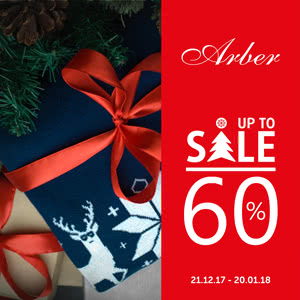 NEW YEAR SALE up to -60% in Arber