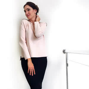 Sweater is multifunctional unit of wardrobe. You can mix it with skirt, pants or even dresses