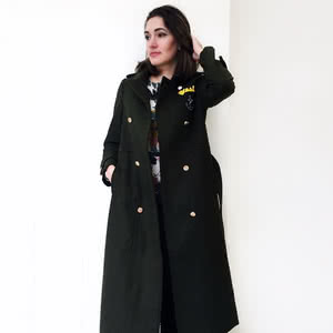 You'll be trendy with new stylish coat