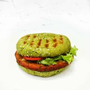 Vegetarian burger – 39 UAH