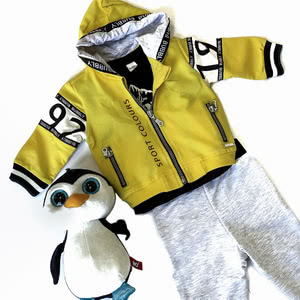 New collection of sports suits for boys and girls!