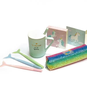 Notebooks, pencil case, cups and everything from the new collection!