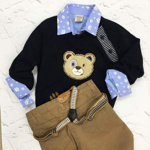 Fashion children's clothes for boys should be comfortable and practical, That is so important for the little restless