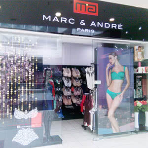Shop of women's lingerie and goods «MARC & ANDRÉ»