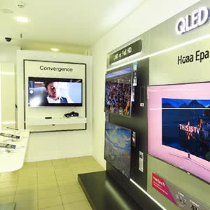 Electronics and digital technology store «Samsung»