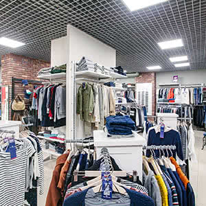 Clothes store «Tom Tailor»